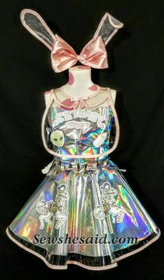 Holographic Melanie Martinez Custom Costume by sewshesaidcom