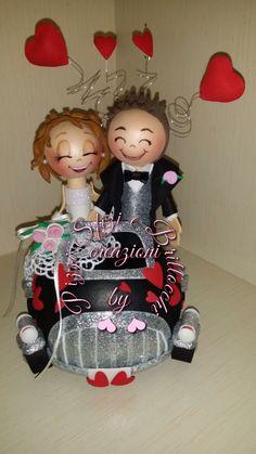 Toppercake nuziale per sposi spiritosi!