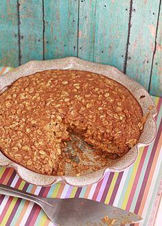 Pumpkin Pie Baked Oatmeal | Kitchen Treaty