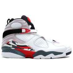 innovative design b3de3 0045d Air Jordan 8 Original Bugs Bunny White Black–True Red shoes colorways shop.