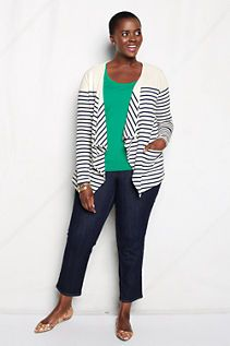 92dc53fdea462 Women s Plus Size Midweight Heritage Jersey Draped Jacket from Lands  End   59