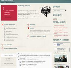 Creative layout for course presentation  http://impulstraining.ro/leadership-influenta/