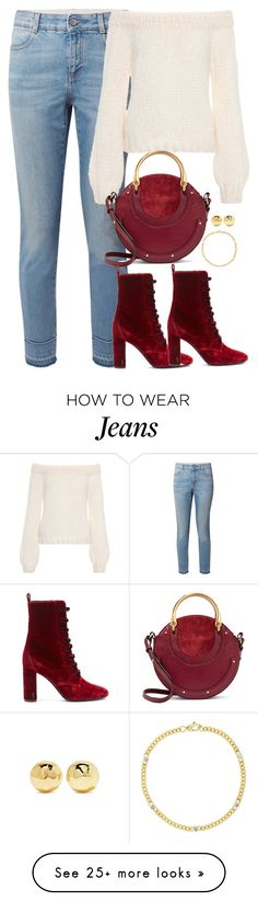 """Unbenannt #2433"" by luckylynn-cdii on Polyvore featuring STELLA McCARTNEY, Ganni, Chloé, Yves Saint Laurent, Jemma Wynne and Ippolita"