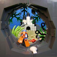 atlantis. Love the perspective. Lego
