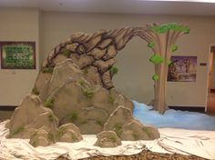 BOULDER BRIDGE- VBS2015  JOURNEY OFF the MAP Unknown to us, known to HIM Ridgecrest, North Carolina