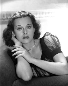 Hedy Lamarr. Photo by George Hurrell, 1938.