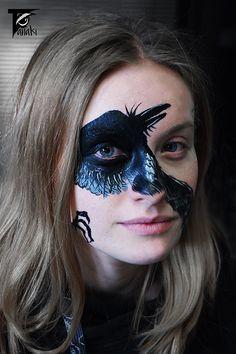 facepainting by czech artist Tanaki