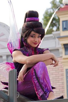 Vidia from Disney's Tinker Bell at Disneyland