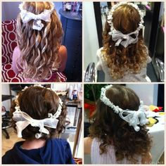 Flower girls Flower Girls, Crown, Hairstyles, Flowers, Fashion, Haircuts, Corona, Hairdos, Moda