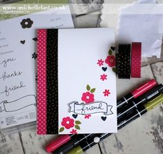 Technique 101 - Using Stampin' Write Markers - with Michelle Last