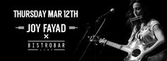 """Joy Fayad is #back with us on Thursday 12th March! #Band starts at 9.30 PM HAppy HOur 5-8 PM #Great_food, #great_drinks and #great_music! If it #rains, who cares? We are covered! We are located on the corner of the newly opened Courtyard in Hamra- Just by """"The Alley way"""" Makdessi Street. Beirut- Lebanon, of course… #beirut #live #band #hamra #lebanon #joyfayad BistroBar Live #liveentertainment #liveband  see more: http://goo.gl/18MRf0"""