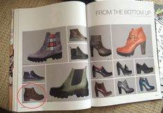 ARS Sutoria, Italian professional footwear publication, issue #402, April 2015 Darkwood shoes, women model from the Fall/Winter 2015/16 collection #fashion #footwear #shoe #style #leather #boots #booties #brown #comfort #shoeoftheday #styleoftheday #winter #fall #collection #casual #women #trends