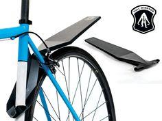 Quickfix and Foldnfix Foldable Bike Fenders