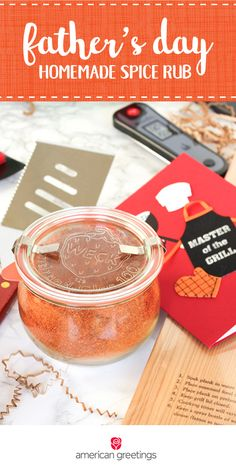 Your dad is a grill master. So, this Father's Day, give him the gift of his own speciality seasoning with this recipe for Homemade Spice Rub! When paired with barbecue essentials and a fun greeting card from Target, you've got the perfect thoughtful present idea he'll love.