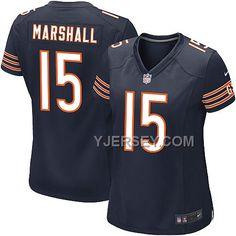 http://www.yjersey.com/nike-bears-15-marshall-blue-game-women-jerseys-for-sale.html Only$36.00 #NIKE BEARS 15 MARSHALL BLUE GAME WOMEN JERSEYS FOR #SALE Free Shipping!