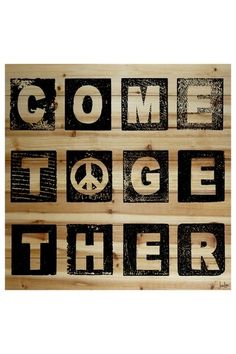 Come Together Beatles man <3