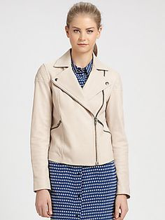 Marc by Marc Jacobs Jett Leather Moto Jacket