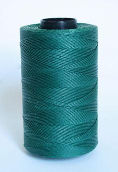 waxed nylon cord macrame cord waxed polyester blue DARK
