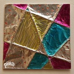 My art class might be willing to do this. Aluminum foil, cereal boxes, and yarn.