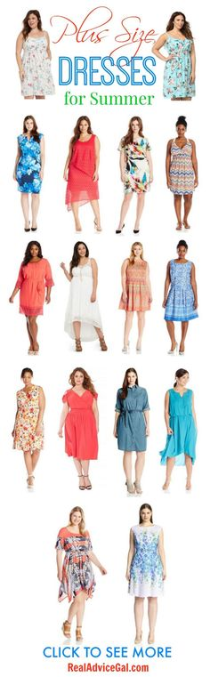 Check out our Summer Plus Size Fashion tips and check out our picks of awesome Plus Size dresses for Summer! All these are figure flattering and reasonably priced.