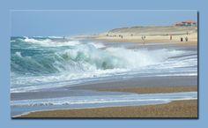 Hossegor Beach, South West France