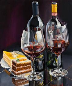 Birthday Cheers, Birthday Wishes, Happy Birthday, Bday Cards, Fun Cooking, Fine Wine, Cream Cake, Happy Anniversary, Wine Tasting