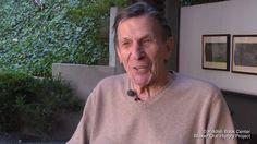 "Leonard Nimoy, Spock of 'Star Trek,' Dies at 83 - NYTimes.com...""Nimoy explains the origin of the Vulcan Greeting.."