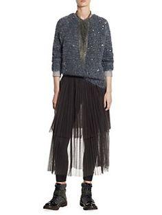 Brunello Cucinelli - Sequin Mohair Sweater