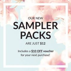 Right now you can try Racinne Skincare for just $12!  Visit our gift shop to shop our sampler packs!