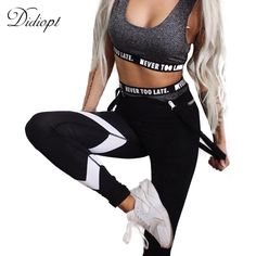 23876e0e94 Didiopt Yoga Leggings Running Compression Pants Women Fitness Sports  Leggings Trousers Sportwear Vansydical Ropa DeportivaP1619Y-in Yoga Pants  from Sports ...