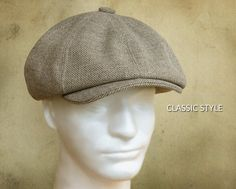 17de1902cf678e SEWING PATTERN - Taylor, 1920's Gatsby Newsboy Driving Cap for Child or  Adult with optional ear warm