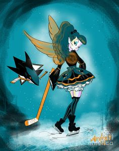 San Jose Sharks Fairy