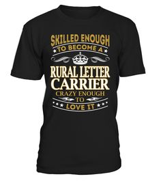 Rural Letter Carrier - Skilled Enough To Become #RuralLetterCarrier