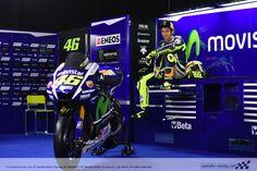 The doctor box Motogp Valentino Rossi, Valentino Rossi 46, Vale Rossi, Racing Team, Racing Bike, Yamaha Motor, King Of The World, Vr46, Monster Energy