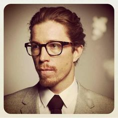 (Shaun White) Wow. What?!  |  I love a sexy ginger, but wow.  Totally unexpected.