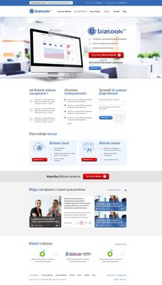 For A plus C company we created graphic designs and HTML templates for the site dedicated to one of the most important products - Bizlook system. Particular emphasis was placed on the readability and clarity of content. Visit site: bizlook.pl