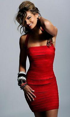 Slinky Red Little Red Dress <3
