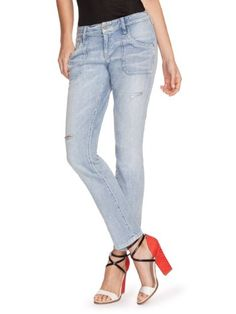 GUESS Brittney Relaxed Jeans in Civil Wash wit « Impulse Clothes