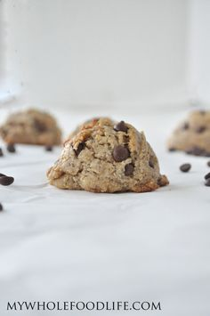 Salted Caramel Chocolate Chip Cookies - My Whole Food Life  cashew butter based and all vegan