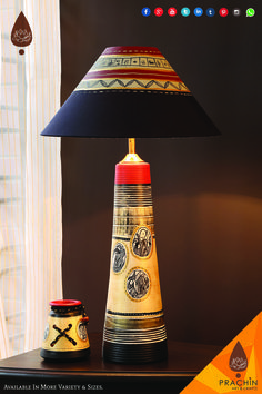 Check our classic range of Indian ethnic table lamps.