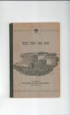 Vintage West Point Cookbook Regional New York Over 8000 Cookbooks To Select From In Store Today @