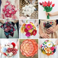 33 alternative bridal bouquets