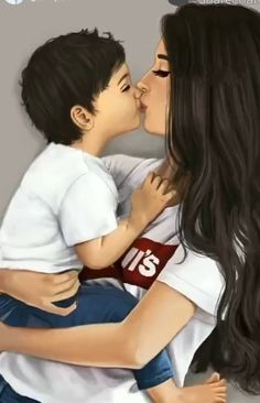 Mother Son Love, Mother Daughter Art, Mother Art, Mommy And Son, Mom Son, Children Photography, Photography Poses, Sarra Art, Cute Couple Art