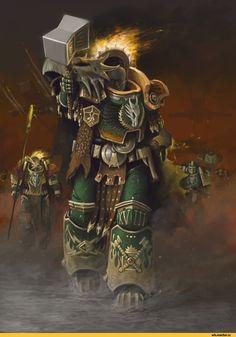 Primarch Vulkan by Zomanuid Warhammer 40k Salamanders, Salamanders Space Marines, Warhammer 40k Memes, Warhammer Art, Warhammer 40k Miniatures, Warhammer Fantasy, Warhammer 40000, Warhammer Models, The Beast