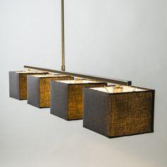 Hängelampe VT 4 schwarz in einem stilvollen Look  #Pendelleuchte #Lampe #Esstischlampe #Innenbeleuchtung