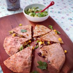 Black Bean Quesadillas | Kitchen Table Food