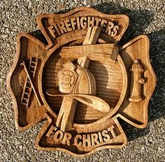 Proud to be a firefighter, and a Christian one to boot.