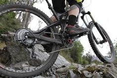 Image result for front on view of rider on mountain bike