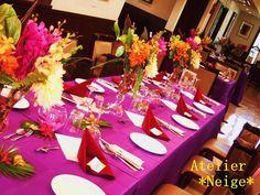 Vivid Colors Wedding|Atelier Neige