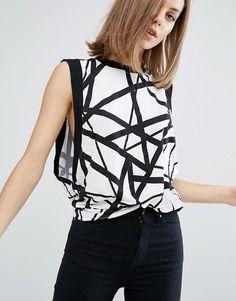 4f9c25844 Discover Fashion Online Dr. Denim, High Neck Top, Mode Online, Polka Dot